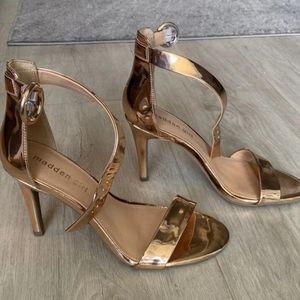Madden Girl Britney Rose Gold Heel Sandals